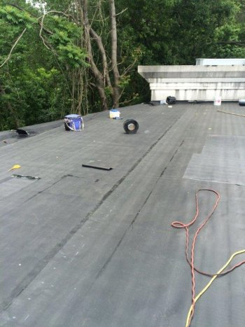 EPDM commercial roofing in paramus